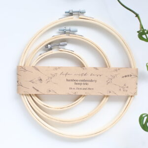 Embroidery Hoop Trio Pack